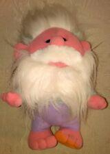 1989 Playskool Hobnobbins Grandpa Fuzzy Plush Troll Stuffed Animal Vintage 80s