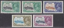 Malta 1935 KGV Silver Jubilee Set Mint SG210-213 cat £26
