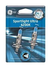 GE Sportlight Ultra 4200K twin pack 2 x H1 + 2 blue w5w 50310SBU XENON LOOK