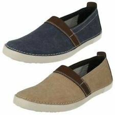 Mens Clarks Casual Slip On Shoes 'Neelix Free'