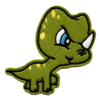 Rugrats Cartoon Angry Reptar Character Embroidered Iron on Patch