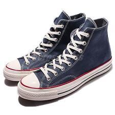 Converse Chuck Taylor All Star 70 1970s High Blue Whtie Denim Men Shoes 153830C