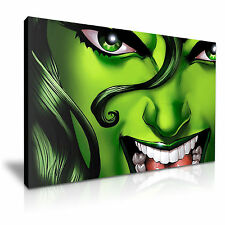 SHE HULK Canvas Framed Print 30X20 INCH / 76x50CM SPECIAL OFFER