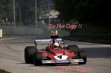 Arturo Merzario Ferrari 312 B3 Italian Grand Prix 1973 Photograph 1