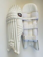 SS Pro Issue Cricket Batting Pads | All White Custom Made