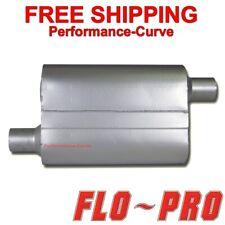 """2 Chamber Performance Exhaust Street Muffler FLO-PRO Super V - 2"""" O/O - V42043"""