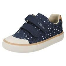 Chaussures décontractées bleus avec boucle pour fille de 2 à 16 ans