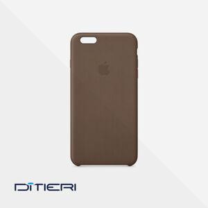 Apple Cover Custodia In Pelle Originale per Iphone 6 Plus MGQR2ZM/A Brown Nuova