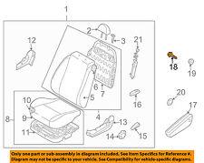GM OEM Front Seat-Armrest Bolt Left 96347820