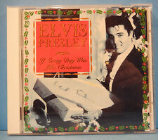 ELVIS PRESLEY IF EVERY DAY WAS LIKE CHRISTMAS CD 1994