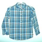 Janie and Jack 3y 100% cotton red,white,blue plaid shirt,long sleeve
