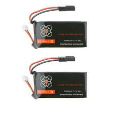 2X Upgrade Lipo Battery 11.1V 2500mah 20C fr Parrot AR.Drone 2.0 Quadcopter W9S0