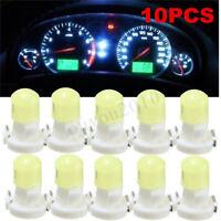 10x T3 Neo Wedge LED Bulb Instrument Dash Dashboard Gauge Base Lamp Light