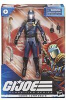 Hasbro G.I. Joe Classified Series Cobra Commander GI Joe Action Figure In Hand