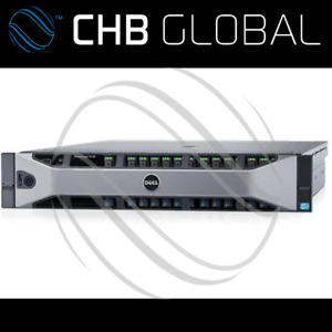 DELL R730 LFF 2 X Xeon E5-2660v2 128GB DIMM Quad Port 1GB NDC H730 Dual 750W PSU