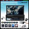 """7""""HD 1 Din Autoradio+Caméra Bluetooth FM Lecteur MP5 USB/SD/AUX/FM Écran tactile"""