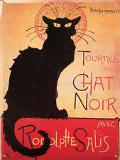Tournee Du Chat Noir Tin Sign - 12x16