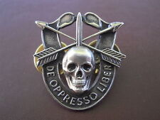 Special Forces Skull Crest DI Pin Uniform US Army SF Airborne SOG Insignia OK90
