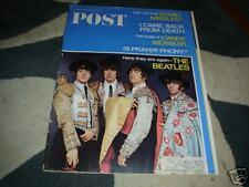 THE BEATLES 1966 USA POST MAGAZINE JOHN PAUL RINGO GRG