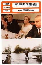 FICHE CINEMA : LES FRUITS DU PARADIS - Helma Sanders-Brahms 1992 Apple Trees