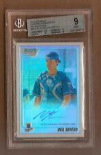 2010 Bowman Chrome Wil Myers Auto Refractor BGS 9 with 10 Auto REF