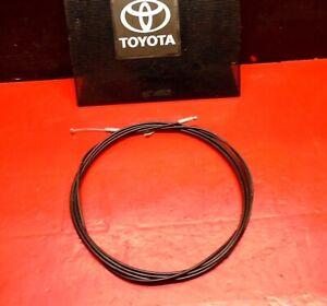 01-03 TOYOTA PRIUS REAR TRUNK HATCH DOOR LID RELEASE HANDLE CABLE WIRE LINE OEM