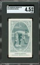 1922 E120 Norman Boeckel - Boston Braves - SGC 4.5