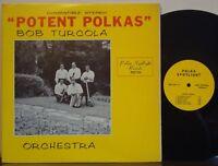 BOB TURCOLA QUINTET Potent Polkas RARE 1968 POLKA SPOTLIGHT--MARJON LP Slovenian
