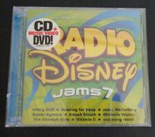 Radio Disney Jams, Vol. 7 (CD, Mar-2005, Walt Disney) NEW Free Shipping SEALED