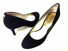 Michael Kors Flex Black Suede Round Toe Pump Women Size 8.5 M
