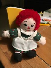 Snowden and Friends Raggedy Ann's Christmas Numbers Doll And Book