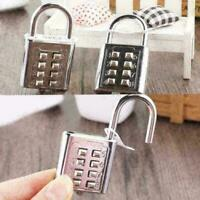 8 stellige Zahlenkombination Koffer Gepäck Metall Code Padlo Lock Passwort A2C1