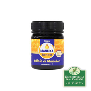 MANUKA BENEFIT Miele di Manuka 550+ MGO 250 grammi - Optima Naturals
