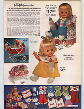 1965 PAPER AD Doll Mary Jerry Suzy Cute Playground Dresser Buggy Stroller Bath