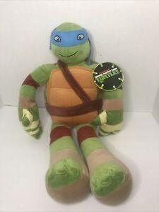 """Nickelodeon Leonardo 24"""" Plush Teenage Mutant Ninja Turtles Blue Mask"""