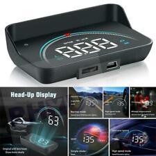Car HUD Head-up Display OBD2 II Overspeed Warning System Speed Voltage Alarm