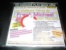 "CD NEUF ""KARAOKE PLAY-BACK KPM, VOLUME 37 : Frank MICHAEL"""
