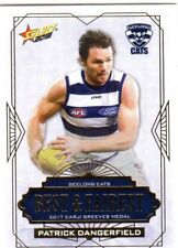 2018 AFL SELECT FOOTY STARS GEELONG BEST FAIREST CARD PATRICK DANGERFIELD BF7