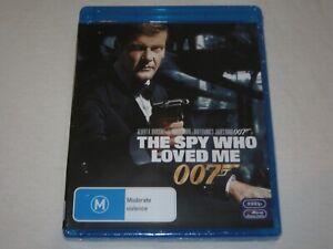 The Spy Who Loved Me - 007 - Brand New Sealed - Region B - Blu Ray