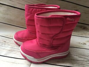 Next Girls Lined Snow Boots Infant Size 7