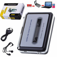Lecteur Walkman USB Tape Convertisseur Cassette en MP3 Audio Stereo Music Player