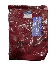 B.I.C.Medical Uniforms Size 2Xl Burgundy Nursing Scrub 2 Piece Outfit Unisex New