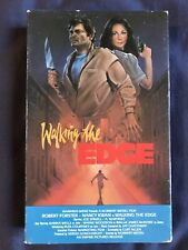 WALKING THE EDGE Robert Forster Joe Spinell 80s cult action Betamax LIGHTNING
