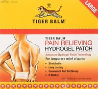 Tiger Balm Pain Relieving Large Patch w/Advanced Hydrogel Technology 4 Ct (6PK)