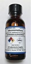Dibromomethane, 99.6%, stabilized, for synthesis, 30ml or ~73g ❶