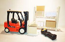 Telecomando giocattolo carrello elevatore SCALA 713, modello 1:14 originali-NUOVO