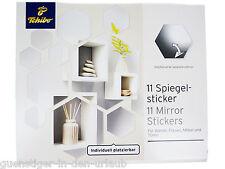 TCM Tchibo 11 Spiegelsticker Wanddeko Wanddekoration Dekospiegel Spiegel Sticker