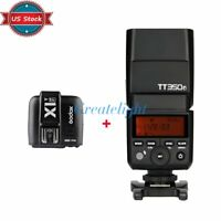 US Godox TT350F 2.4G TTL Flashgun Speedlite + X1T-F Trigger Kit For Fujifilm