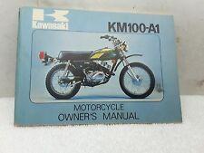 New NOS OEM Kawasaki Owners Manual 1976 KM100 KM100-A1 1976 99997-864-01