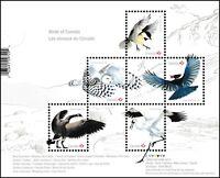 Canada 3117 Birds souvenir sheet MNH 2018
